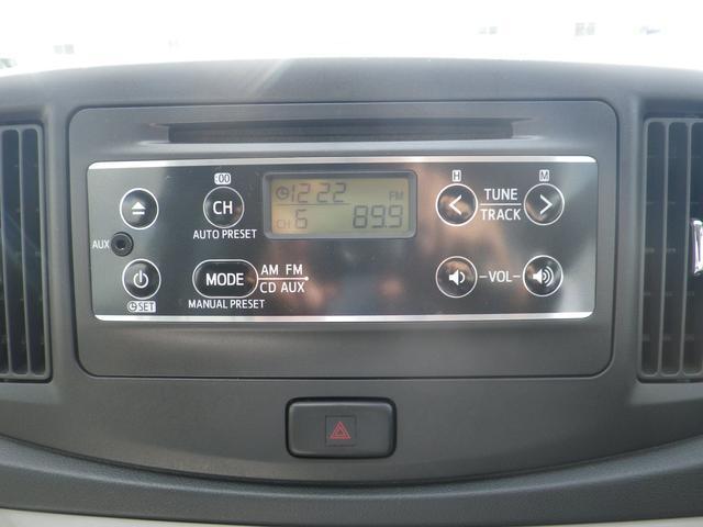ダイハツ ミライース X SA ワンオーナー禁煙車アルミホイール CDチューナー