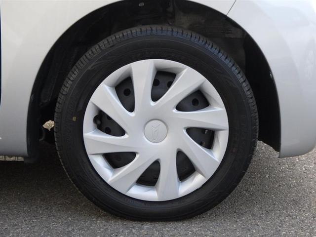 タイヤは155/65R14サイズのスチールホイールを装備