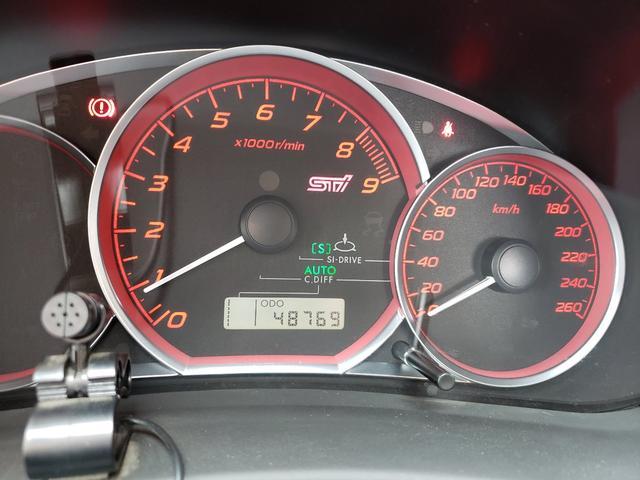 WRX STi 6MT 4WDターボ カロッツェリアナビ(10枚目)