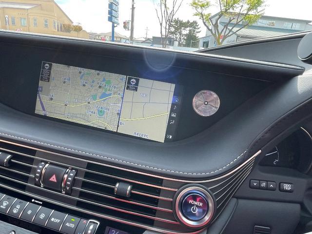 LS500h AWD エグゼクティブ WALD仕様 OZ22アルミ サンルーフ 黒革シート エアサスコントローラー リアエンターテイメント セーフティシステム+A マークレビンソン デジタルインナーミラー 新車保証継承 212ブラック(14枚目)