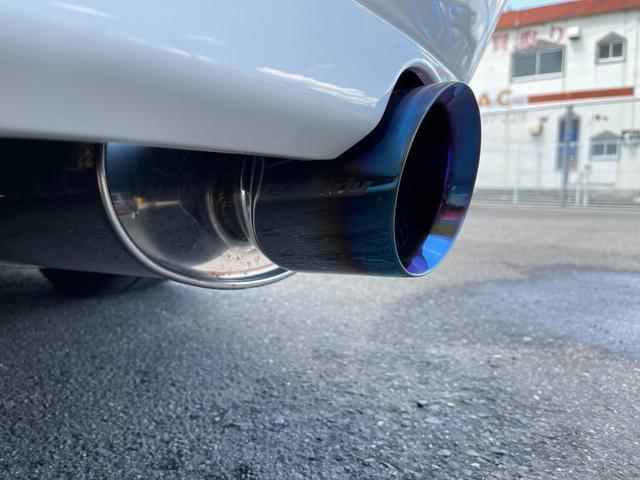 RS200 Zエディション ワイドフェンダー公認 トラストターボKIT トラストイーマネージサブコン フジツボセンターパイプ トラストマフラー テイン車高調 HKSブーコン 軽量ボンネット(21枚目)