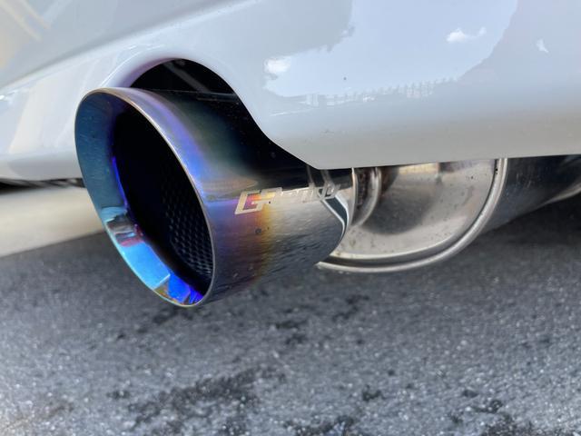 RS200 Zエディション ワイドフェンダー公認 トラストターボKIT トラストイーマネージサブコン フジツボセンターパイプ トラストマフラー テイン車高調 HKSブーコン 軽量ボンネット(22枚目)