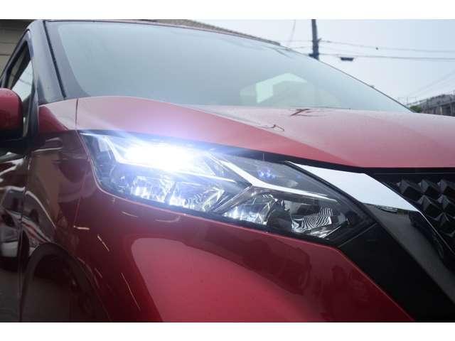 ハイウェイスター X 弊社社用車 踏み間違い防止 LEDヘッドライト 車線逸脱 アラウンドビューモニター インテリオートライト ハイビームアシスト(21枚目)