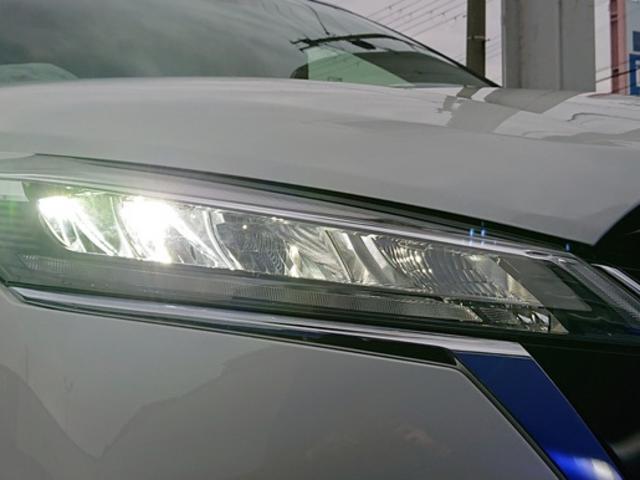 X 登録済未使用車 全周囲カメラ LEDヘッドライト 踏み間違い防止 車線逸脱 インテリルームミラー SOSコール ハイビームアシスト EVモード ふらつき警報 プロパイロット(30枚目)