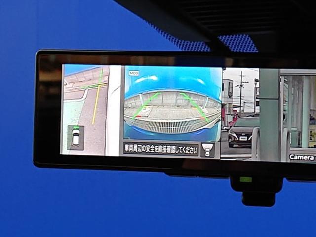 X 登録済未使用車 全周囲カメラ LEDヘッドライト 踏み間違い防止 車線逸脱 インテリルームミラー SOSコール ハイビームアシスト EVモードスイッチ ふらつき警報 プロパイロット オートライト(11枚目)