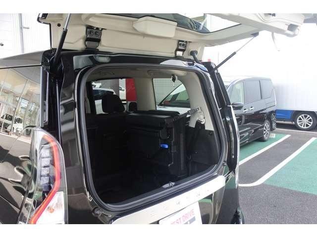 ハイウェイスターV 後期型 BUSOUエアロスタイル エマージェンシーブレーキ アラウンドビューモニター プロパイロット 両側電動スライドドア LEDヘッドライト 純正フォグライト 8人乗り 後方車両検知警報(15枚目)