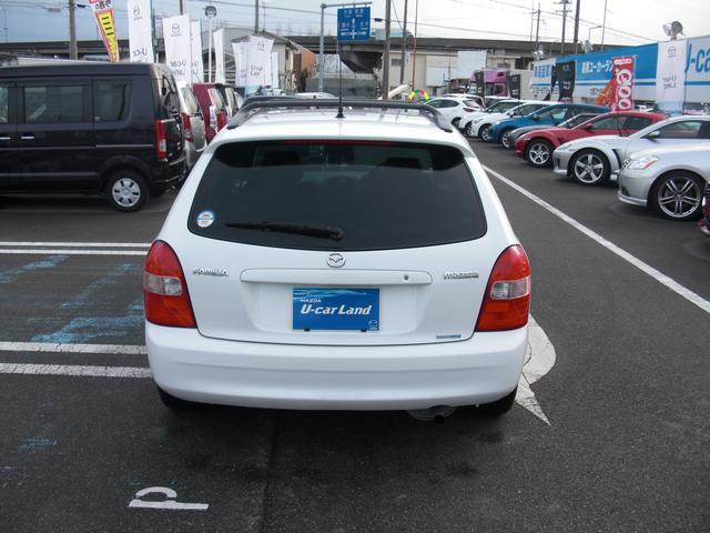 マツダ ファミリアS-ワゴン エアロード