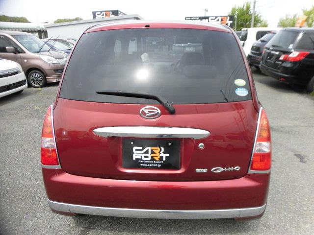 ★担当者からこの車について一言!綺麗なワインレッドカラーで外装綺麗です。大きなキズ、ヘコミありません。