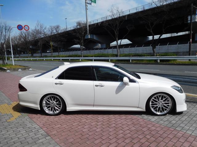 トヨタ クラウン 2.5アスリートナビP新品TEIN車庫調 新品20AWタイヤ