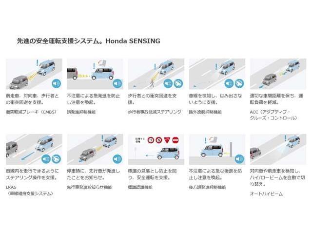 G・Lホンダセンシング インターナビ 両側パワースライド 社外ドラレコ ETC リアカメラ サイドエアバッグ カーテンエアバッグ LEDヘッドライト ステアリングスイッチ USBジャック ロールサンシェード ワンオーナー(3枚目)
