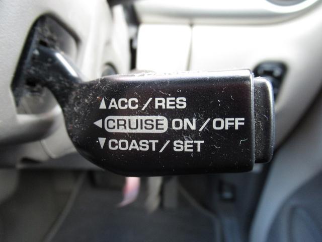 高速では便利なクルーズコントロール!設定すればアクセルを踏まなくても一定速度で走ってくれますのでドライブも疲れにくいですよ!!