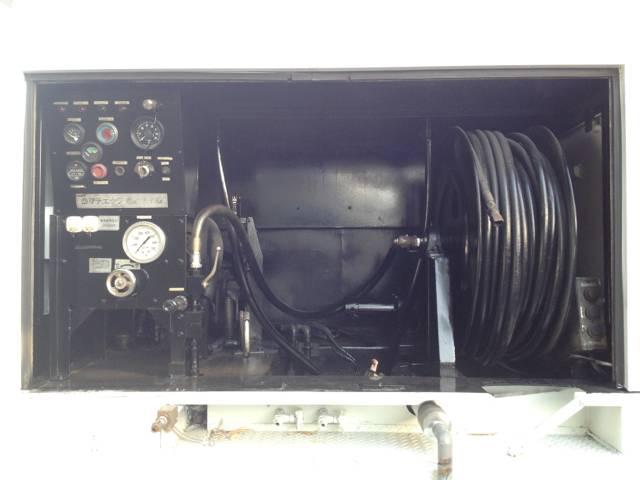 三菱ふそう キャンター 高圧洗浄車 ホースリール