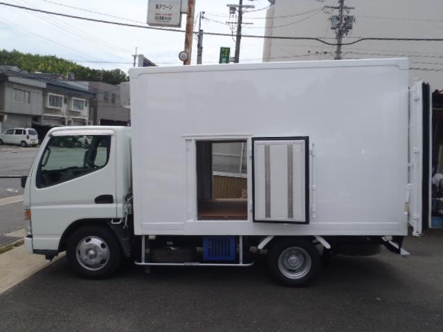 2t冷凍車東プレ-30℃スタンバイ 低床 アイスクリーム仕様(5枚目)