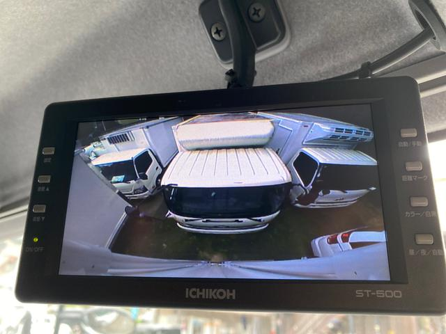 3t ベッド付ワイド6.2m アルミウイング 日本フルハーフ ラッシングレール2段 HSA 左電格ミラー キーレス カロッツェリアメモリーナビ&2チューナー地デジTV バックカメラ TKG-FRR90S2(16枚目)