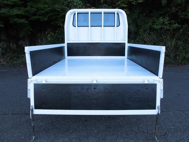 Wキャブワイドロー 荷台鉄板張り塗装仕上済 ETC 社外ナビ(11枚目)