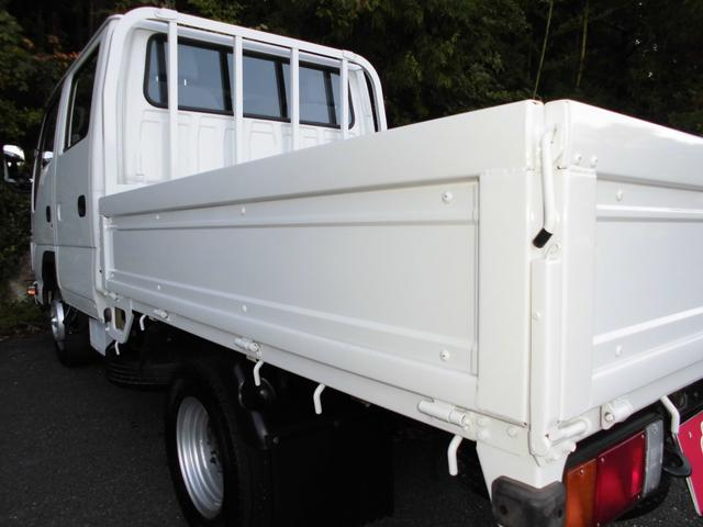 Wキャブワイドロー 荷台鉄板張り塗装仕上済 ETC 社外ナビ(15枚目)