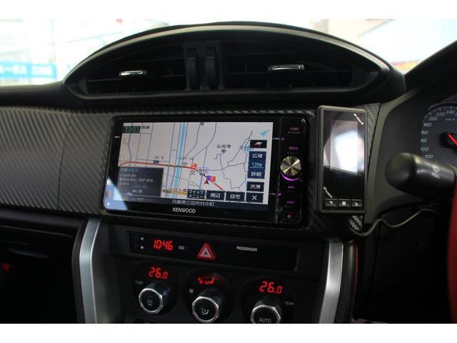 GT 社外SDナビTV TRDエアロ Dマフラ クスコ車高調(17枚目)