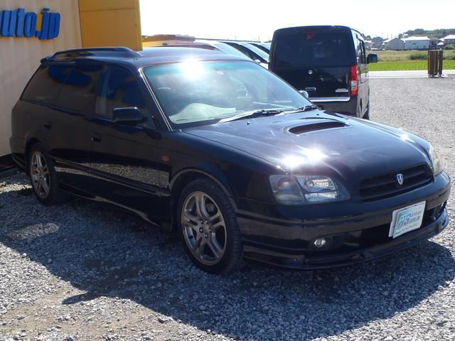 スバル レガシィツーリングワゴン GT-B E-tune 5速MT 4WD 4ナンバー貨物登録