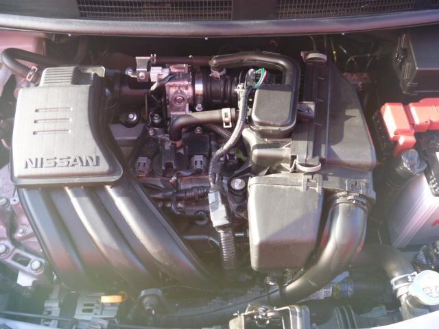 エンジンルームもクリーニング済みできれいです。