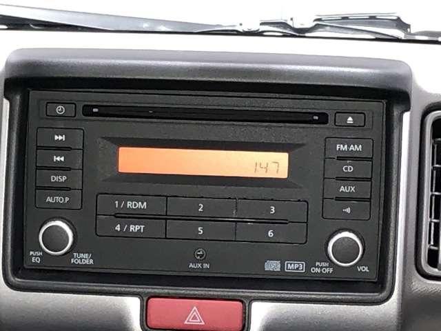 660 DX ハイルーフ 5AGS車 4WD CDチューナーデッキ(8枚目)