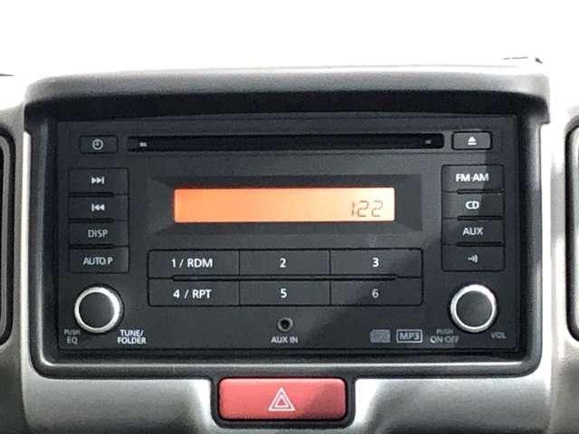 660 DX ハイルーフ 5AGS車 4WD 純正CDオーディオ&リモコンキー(6枚目)