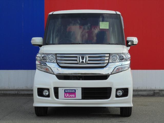 ホンダ N BOXカスタム カスタム SSパッケージ メモリ-ナビ&バックカメラ