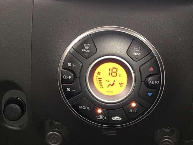インテリジェントエアコンシステム(ワンタッチクリーンスイッチ付)温度を設定するだけで風量など自動で調節してくれるので便利で車内快適に過ごせます♪