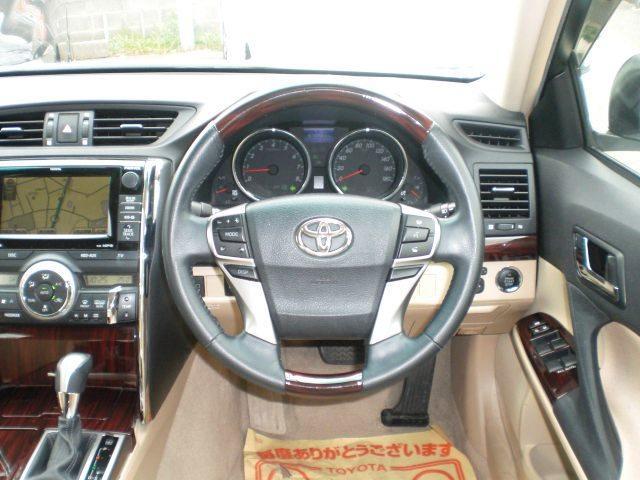 トヨタ マークX 250GRS1オーナー新品WORK20AWローダウンHDD