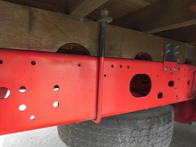 いすゞ フォワード 中型増トン ゲート付き アルミブロック
