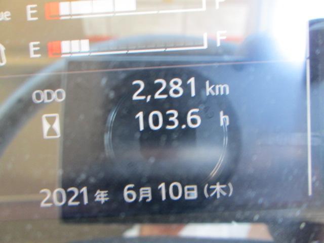 走行2281km