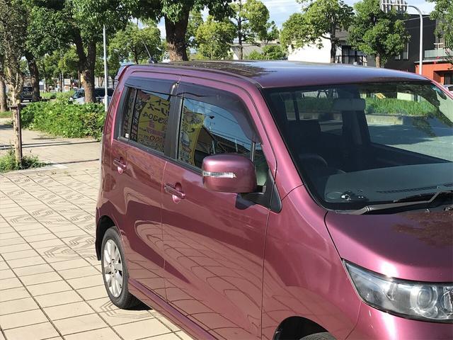 リミテッド ナビ 軽自動車 ETC ワイン CVT AC(10枚目)