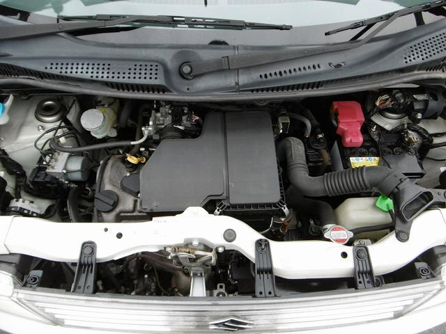 K6A型DOHC直列3気筒エンジン 10・15モード燃費20.0km/L(カタログ値)