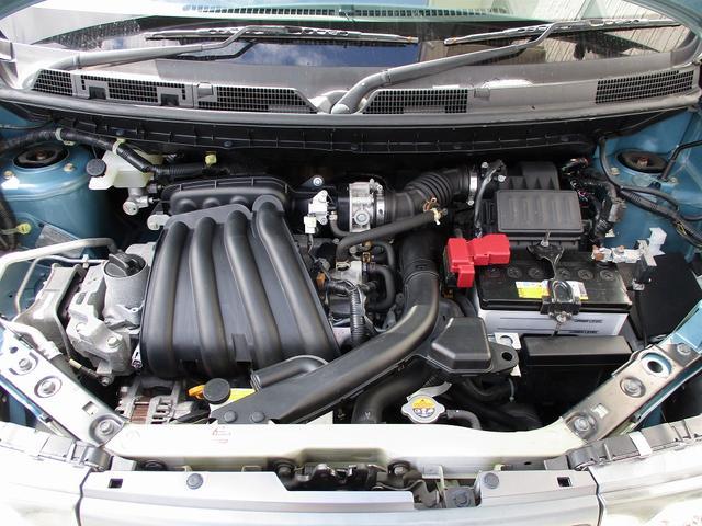 HR15DE型DOHC直列4気筒エンジン 10・15モード燃費20.0km/L(カタログ値)