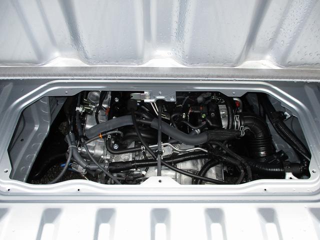 KF型DOHC直列3気筒エンジン JC08モード燃費17.4km/L(カタログ値)