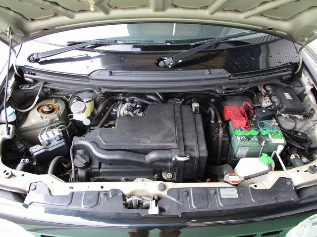 K6A型DOHC直列3気筒エンジン 10・15モード燃費25.0km/L(カタログ値)