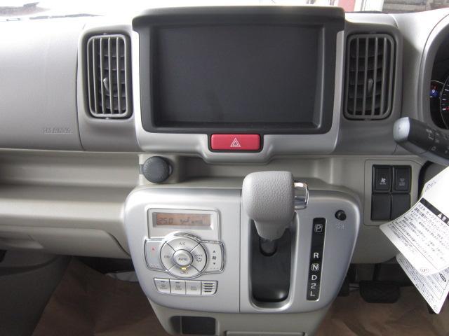 スズキ エブリイワゴン PZターボ 届出済未使用車 レーダーブレーキサポート