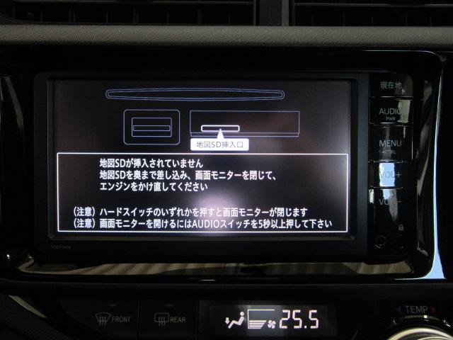 トヨタ アクア S 純正SDナビ ワンセグ バックカメラ スマートキー