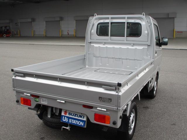 荷台床面地上高は650mmで、荷物の積み降ろし効率が上がります。