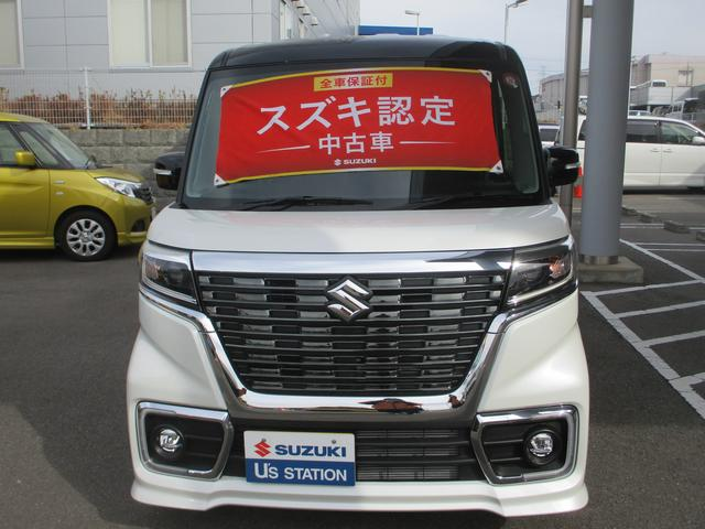 「スズキ」「スペーシアカスタム」「コンパクトカー」「兵庫県」の中古車2