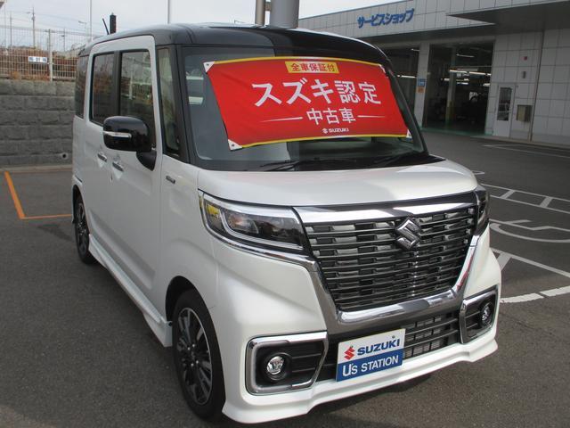 「スズキ」「スペーシアカスタム」「コンパクトカー」「兵庫県」の中古車3