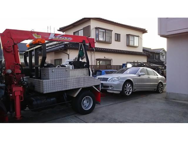 三菱ふそう ファイター レッカー車 2.9t吊3段クレーン NoxPM適合 6速