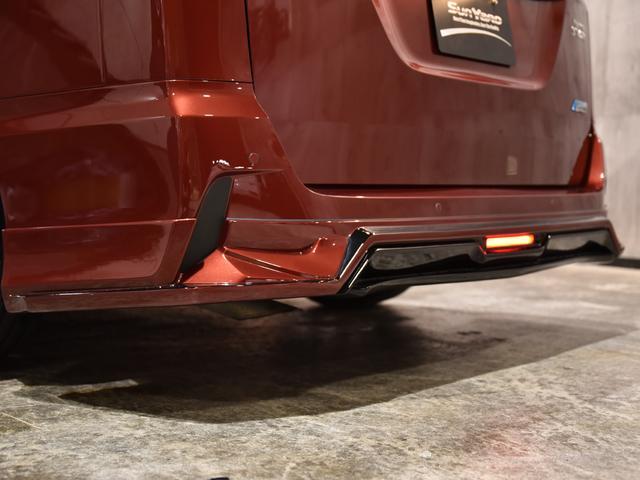 ハイウェイスター Vセレクション ロジャム コンプリート 車高調 レイズ19AW 塗分け塗装 ディライト ドレスアップ アラウンドビューモニター フリップダウン デカナビ(52枚目)