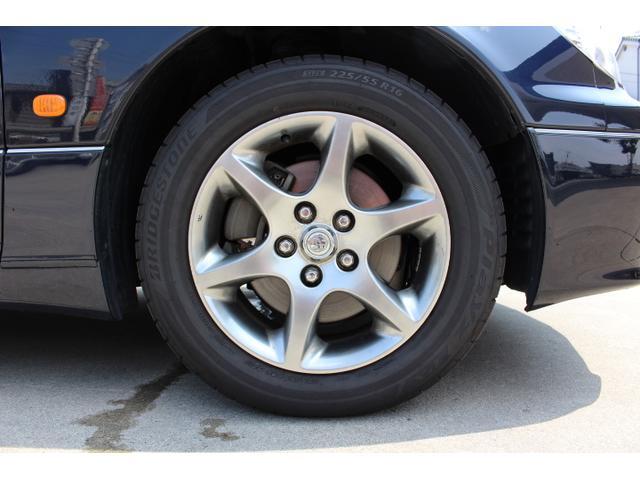 トヨタ アリスト S300ベルテックスエディション DVDナビ