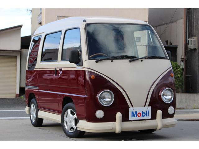 スバル サンバーバン バス仕様 5速MT車