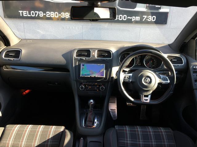 フォルクスワーゲン VW ゴルフ GTI DCCパック ターボ 純正ナビ パドルシフト