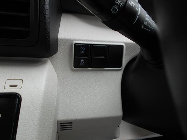 安全性の高い横滑り防止装置や省燃費に貢献するアイドリングストップ機構も備えています。