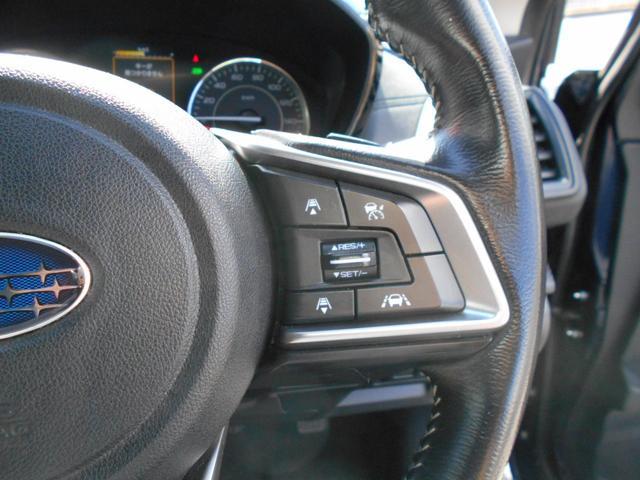 高速道路などでとても便利な全車速追従式クルーズコントロールも装備しています。車間距離を保つように速度調整をしてくれます。
