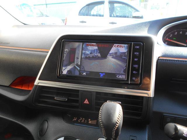 純正SDナビ(NSZT-W68T)を装着しています。地デジ(フルセグ)やDVD再生、ブルートゥース接続も可能です。パノラマビューカメラも装着していますので狭い道や車庫入れも楽々安心です。