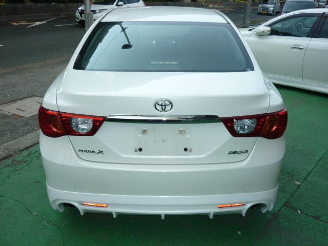 トヨタ マークX ブラックLTD 新品WORKアルミ新品テインフルタップ車高調