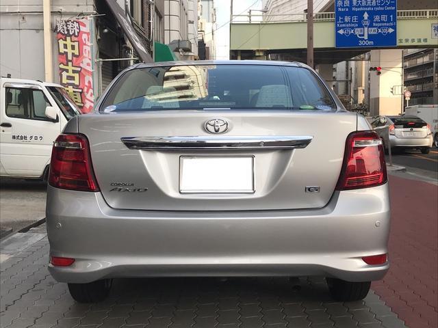 「トヨタ」「カローラアクシオ」「セダン」「大阪府」の中古車7